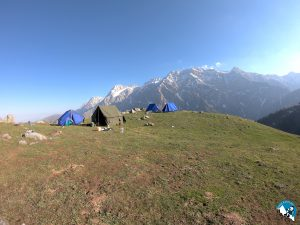 Summit Adventures camp at Bhagpura