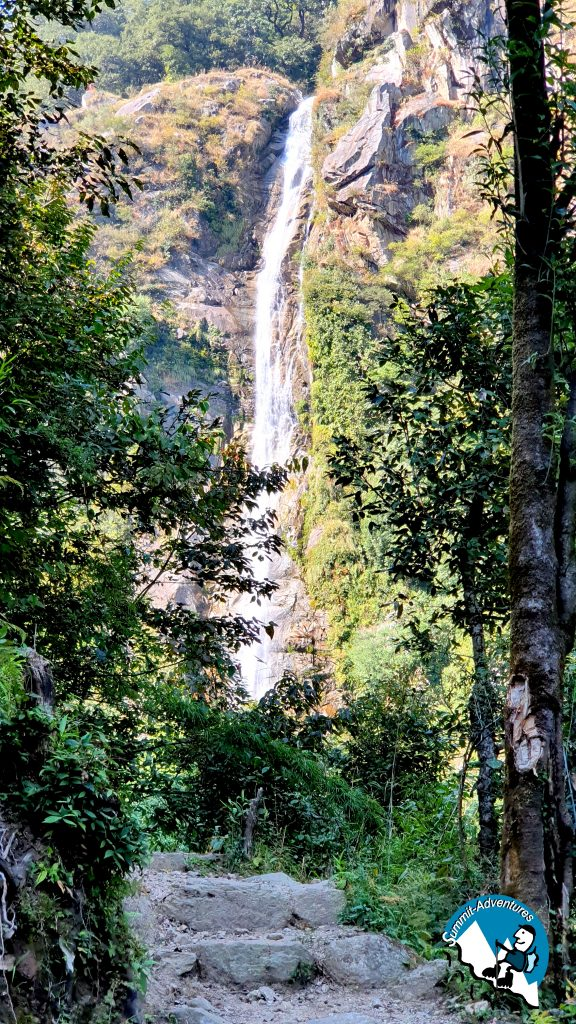 Khabru waterfall